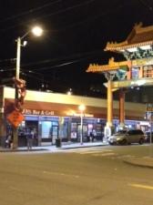 We went to Chinatown.  And had a burger.  At Joe's.