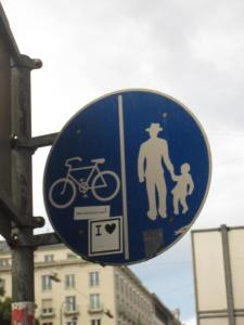 Here, men in hats can walk holding hands with little girls (who look to have a slight limp?)