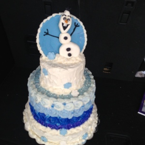 It should be me in sweats, in bed, with a tv, and this cake.